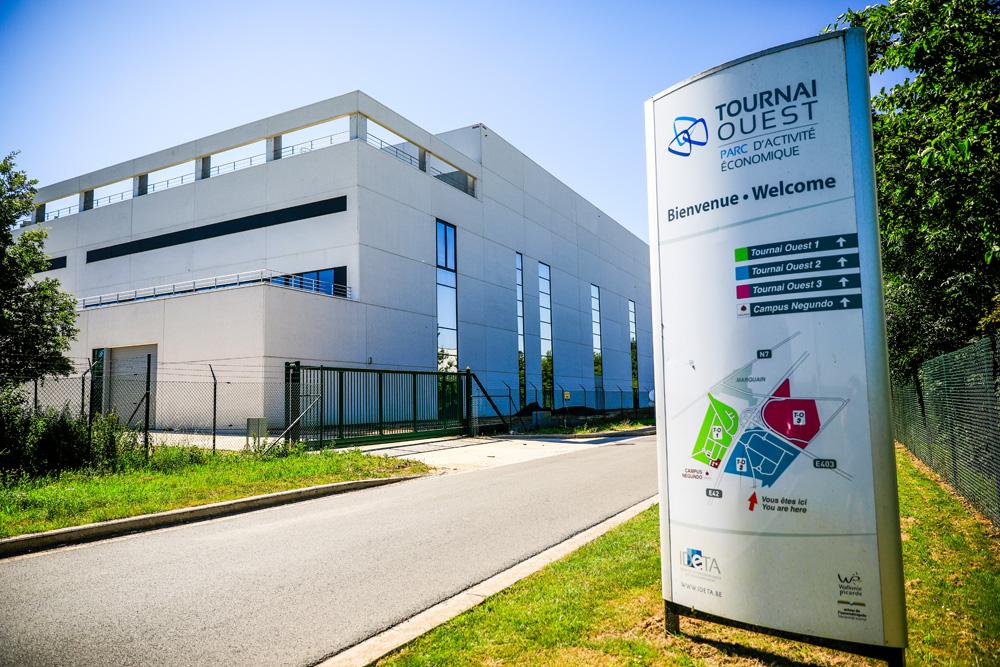L'e-cloud déjà entest dans le zoning de Tournai Ouest